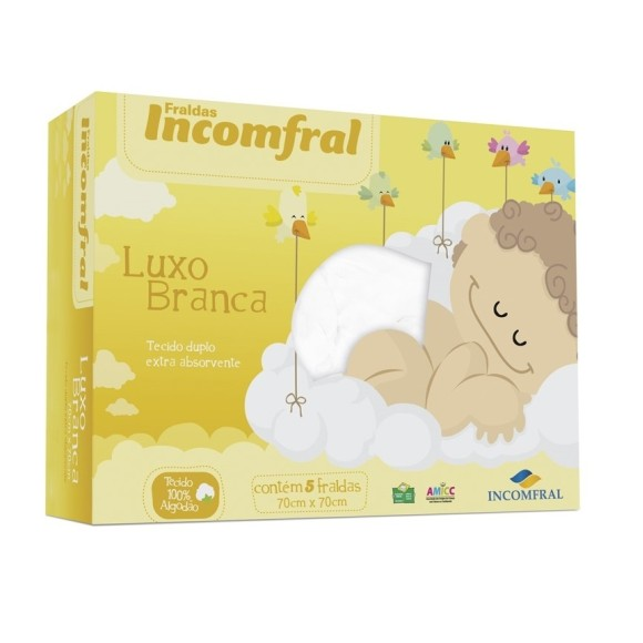 FRALDA LUXO C/5 LISA
