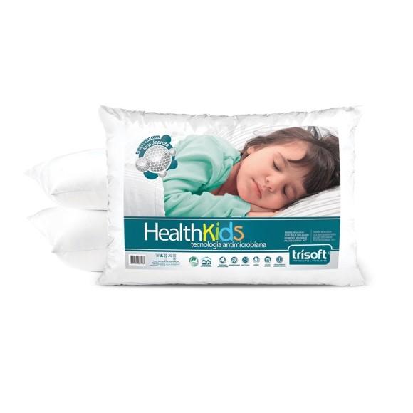 TRAVESSEIRO INFANTIL HEALTH KIDS 180 FIOS