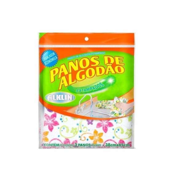 PANO PIA C/3 ESTAMPA FLORAL
